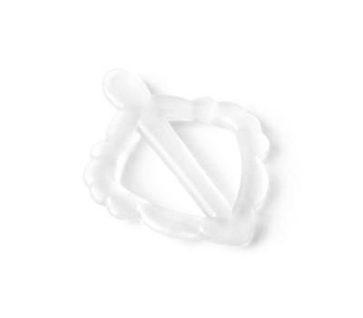 Прорезыватель зубной силиконовый «Листик»